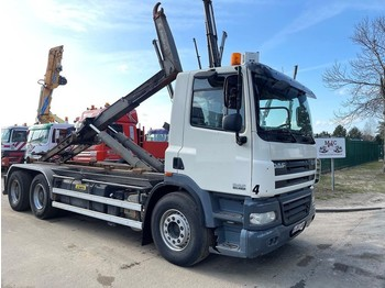 Hook lift truck DAF CF 85.460 - 6x4 - MANUAL ZF - RETARDER - NAAFREDUCTIE / PONTS REDUCTEURS / AP ACHSEN - MARREL AL TH 26 HAAK - TÜV 19-07-2021 -