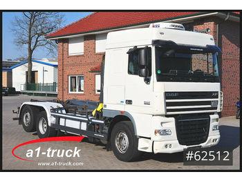 Hook lift truck DAF DAF XF 460 ATe Meiller Standklima, EEV