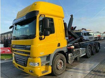 Hook lift truck DAF FAK CF 85.410 8X4 + VDL HAAK