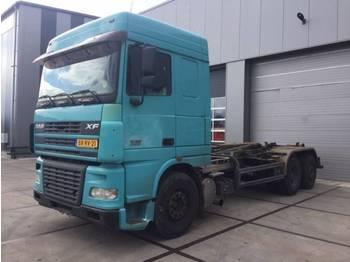 DAF FAS95.480 XF 6x2 MANUEL - شاحنة ذات خطاف