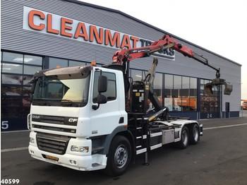 Hook lift truck DAF FAS 85 CF 360 Palfinger 17 ton/meter Z-kraan