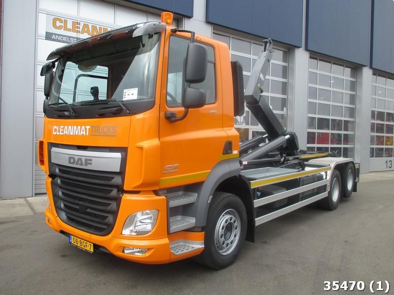 hook lift truck DAF FAS CF 410