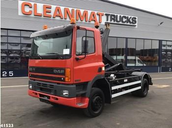 Hook lift truck DAF FA 210 ATI 4x4 Full steel Just 27.681 km!