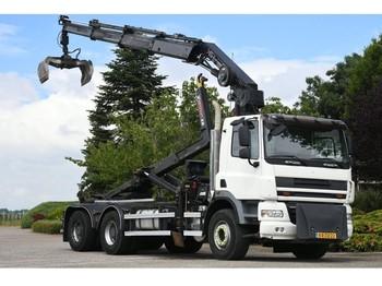 Hook lift truck DAF /GINAF X 3232 S !! 24 tm-KRAAN/HAAK!!6x4 GESTUURD!!EURO5!!2011