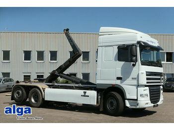 DAF XF105.460 6x2, Gergen, Euro 5, klima, gelenkt  - hook lift truck