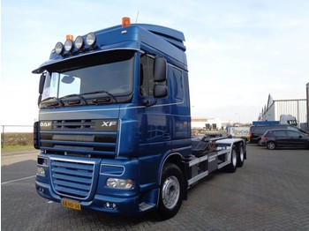 Hook lift truck DAF XF105.460 + Euro 5 + Hook system