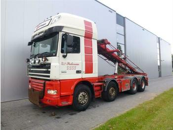 DAF XF105.510 8X4 SSC  EURO 5  - hook lift truck