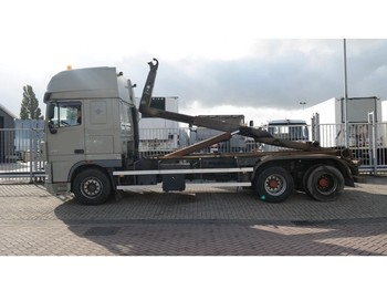 DAF XF 105.410 6X2 HOOK ARM SYSTEM - hook lift truck