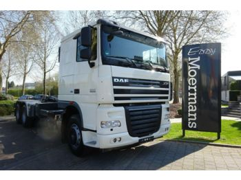 DAF XF 105.410 6x4 Neu Bereift  - hook lift truck