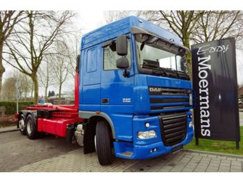 DAF XF 105.510 6x2 Abrolkipper  - hook lift truck