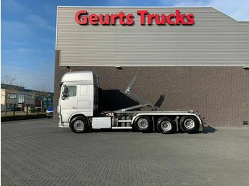 DAF XF 106.460 8X2 TRIPLE SUPER SPACE CAB + VDL HAAK  - hook lift truck