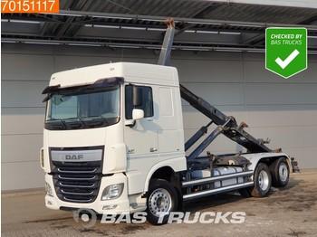 Hook lift truck DAF XF 460 6X2 SC Intarder ACC 2x Tanks Liftachse