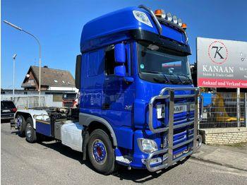 Hook lift truck DAF XF 510 SSC  Abrollkipper Euro6