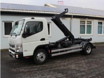 Hook lift truck FUSO Canter FUSO 7C18 City Abrollkipper Miete