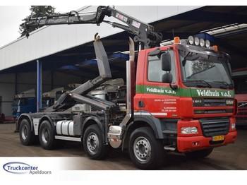 Hook lift truck Ginaf X 4241 S Euro 5, Manuel, Hiab 125-2, 8x4, Truckcenter Apeldoorn