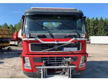 Hook lift truck Hiab 17 ton Mählers plogutrustning