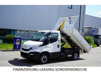 Hook lift truck Iveco 35c180 Palfinger-Abrollkipper AHK Neuwertig E6