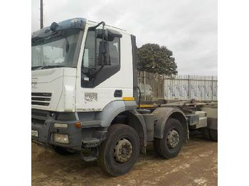 Iveco 8x4 Hook Loader Lorry - hook lift truck