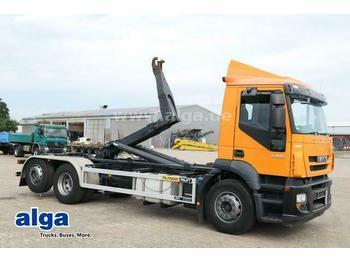 Hook lift truck Iveco AD260S42Y/PS 6x2, Palfinger T20A, Lenk-Lift