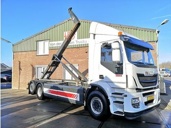 Iveco AD260SY/PS CNG | Haakarm | Retarder | Manual  - hook lift truck