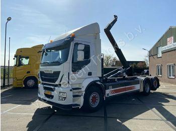Hook lift truck Iveco AD260SY/PS CNG | Retarder | VDL Hooklift | Manua