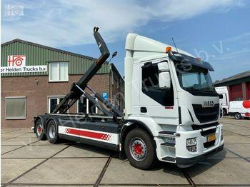Hook lift truck Iveco AD260rSY/PS CNG | Retader | VDL Hooklift | Manua
