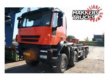 Hook lift truck Iveco AD410T45W: picture 1