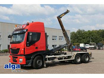 Hook lift truck Iveco AS260S500 6x4, Hyvalift, Schalter, 1-Hand!!!