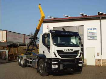 Hook lift truck Iveco AT260S46Y/PS 6x2 Palfinger PH T20 SLD 5