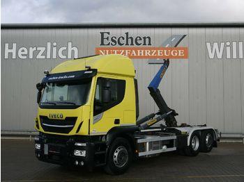 Hook lift truck Iveco AT260 S 42 6x2 Lift/Lenk, 132 TKM, Palfinger T20
