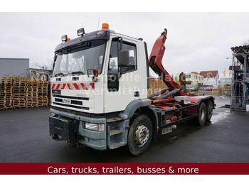 Hook lift truck Iveco EuroTech 240E38 LL *Winterdienst/Lenk+Liftachse