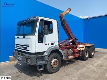 Hook lift truck Iveco Eurotrakker 350 6x4, Guima, Manual, Steel Suspension