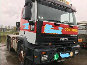 Iveco MP 380 E 42 H 6x4 Blatt/Blatt  - hook lift truck