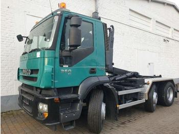 Iveco Magirus Stralis AD 260 S 36 X/P Stralis AD 260S36/6x2/4, Hyva 1642 S, bis 5,5 m, Lenkachse - hook lift truck