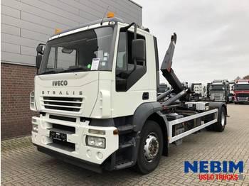 Hook lift truck Iveco Stralis 190 190S27 E3 - FULL STEEL SUSPENSION