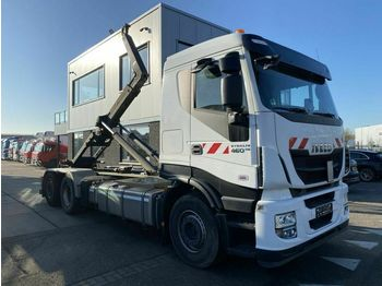 Hook lift truck Iveco Stralis 460 6X2 - ONLY 173.337 KM + RETARDER + H