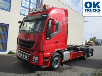 Hook lift truck Iveco Stralis AS260S46Y/FSCM
