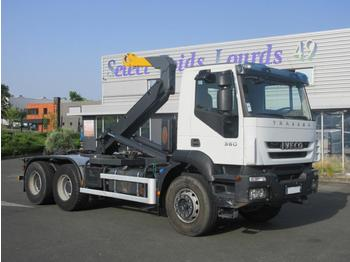 Hook lift truck Iveco Trakker 360: picture 1
