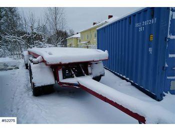 Hook lift truck Kilafors R60 trailer