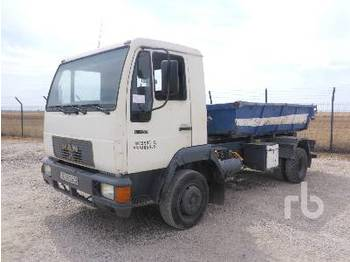Hook lift truck MAN 10.153F