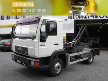 MAN 10.224 - hook lift truck