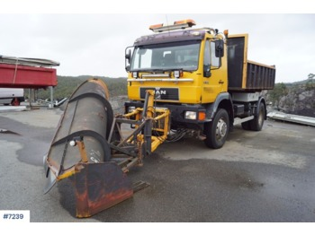 Hook lift truck MAN 14.284