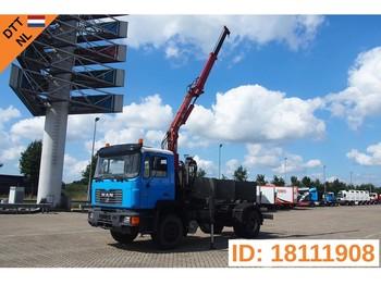 Hook lift truck MAN 18.284