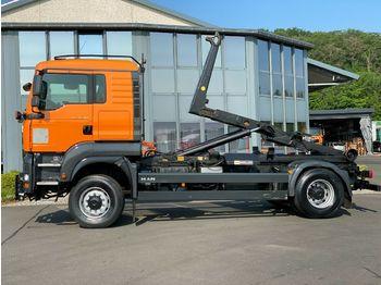 Hook lift truck MAN 18.360 4x4 Meiler Winterdienst Euro 4