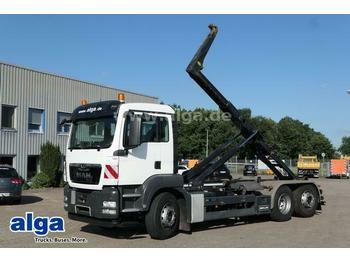Hook lift truck MAN 26.360 TGS BL 6x2, Meiller RK20.65, Klima