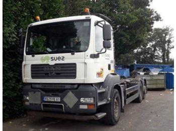 Hook lift truck MAN 26.364