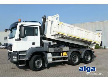 Hook lift truck MAN 26.480 TGS BL 6x4, kurzer Radstand, Aufbau extra