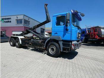 Hook lift truck MAN 27 414 6x4 Manual Retarder Ap-Achsen