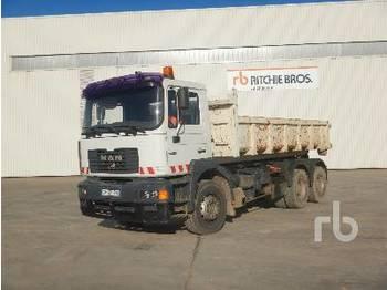 Hook lift truck MAN 30.414 6x4