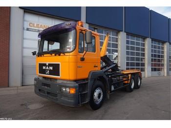 Hook lift truck MAN 33.403 6x4 Manual Full steel